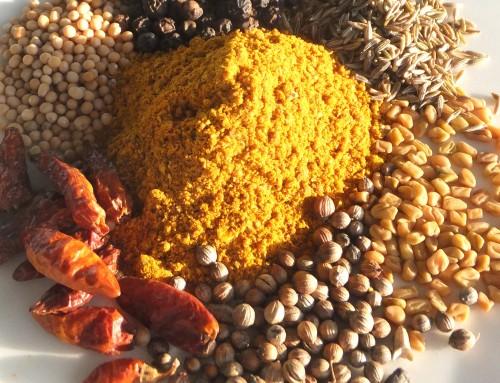 Gehirndoping mit Gewürzen: Madras-Currypulver