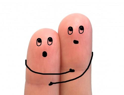 Stress lass nach: Wenn drei Arten der Berührung unter die Haut gehen